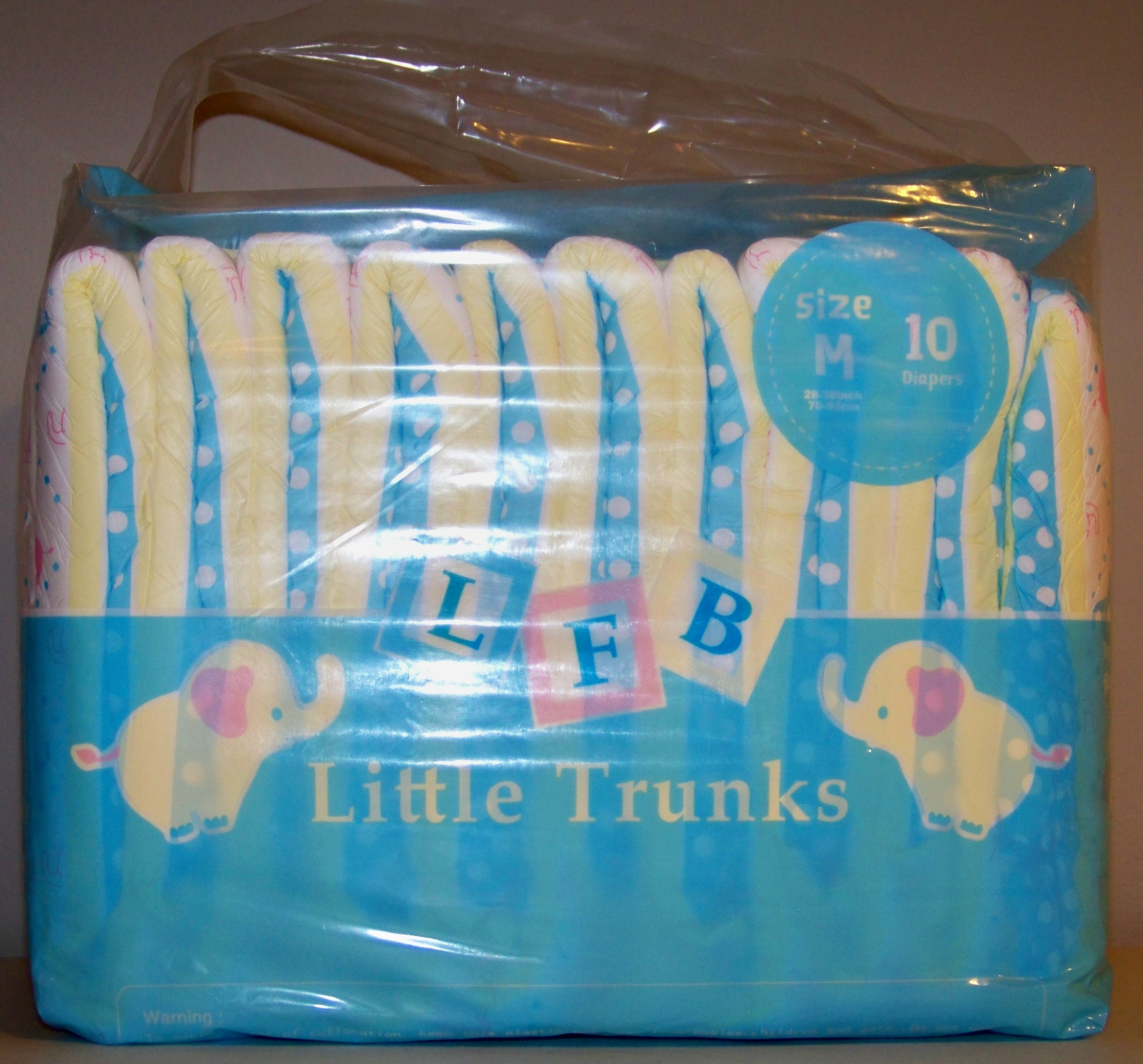 Littleforbig little trunks advanced diaper review its an elegant and professional print with elephants baby blocks spelling out lfb and social media symbols on the side biocorpaavc Images