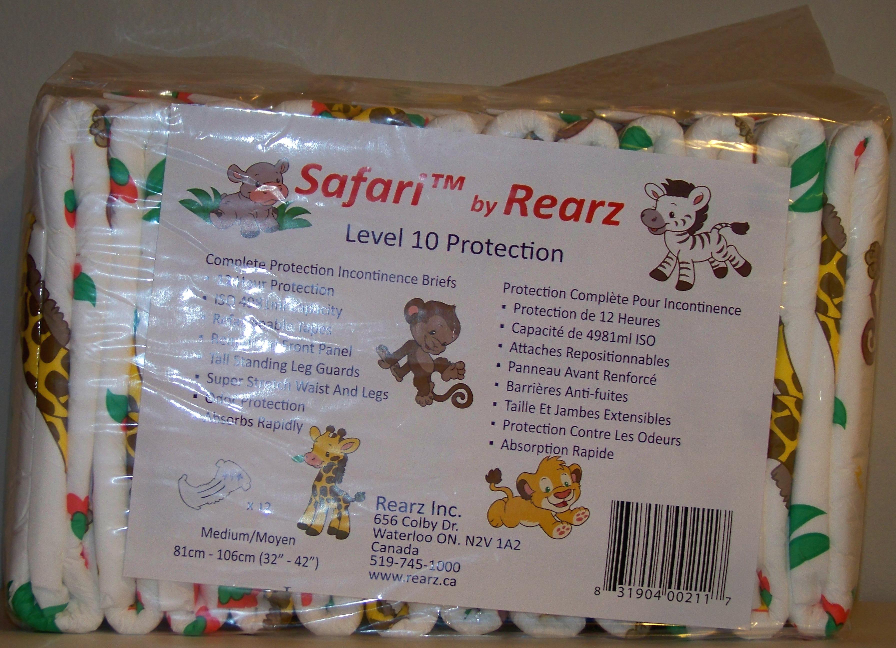 rearz safari onesie