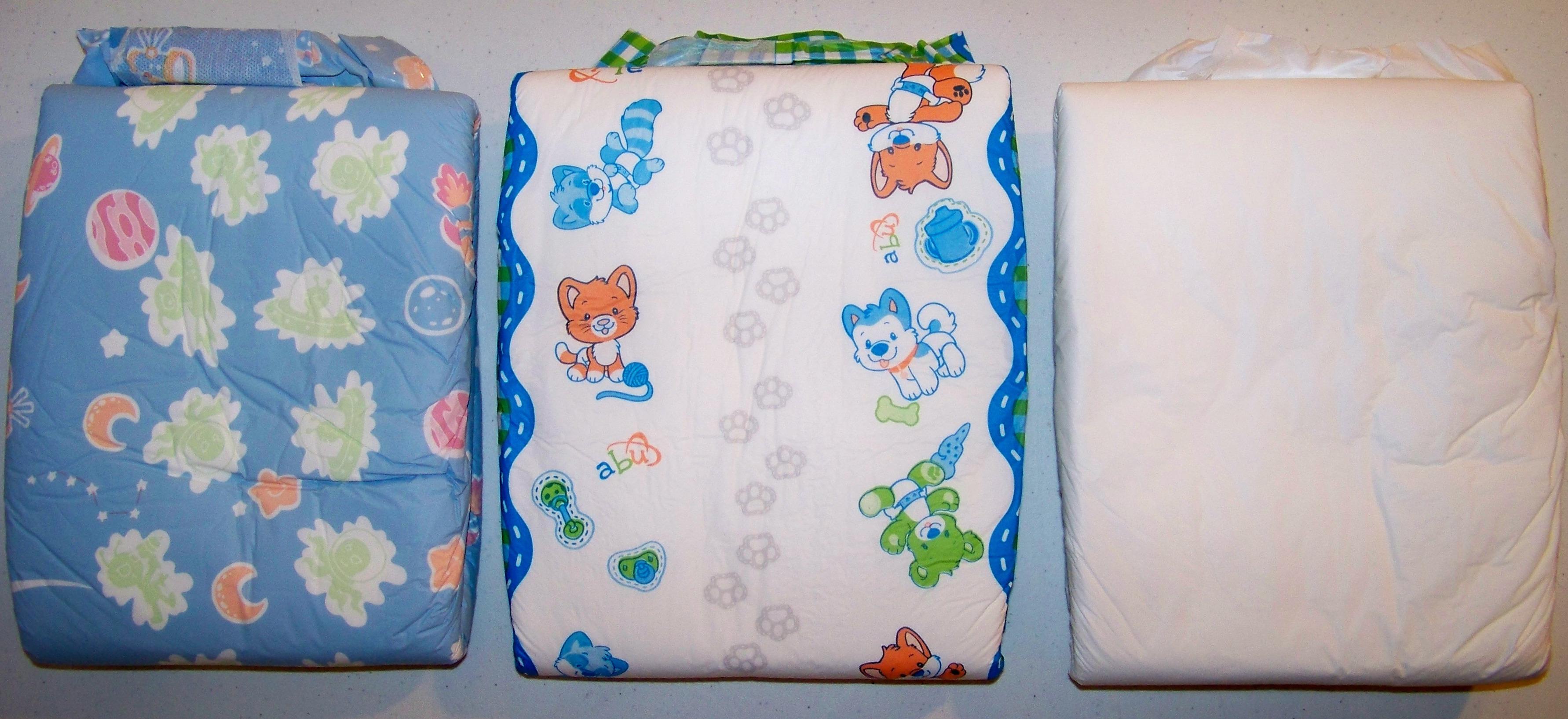 ABU Little Pawz Diapers Pack of 10 Medium